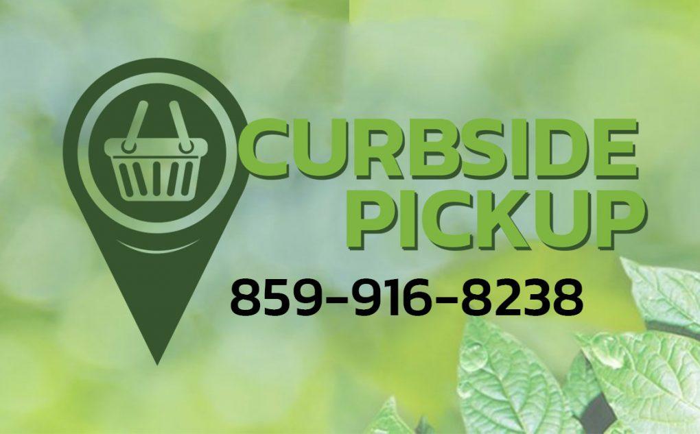 Curbside pickup Kentucky